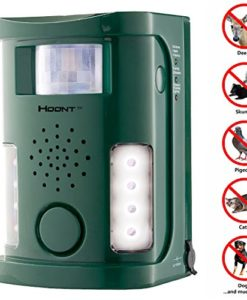 Hoont-Powerful-Electronic-OutdoorIndoor-Animal-Pest-Repeller-Motion-Activated-New-Version-0