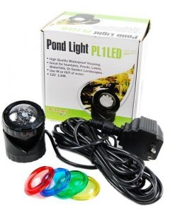 Jebao-PL1LED-1-Submersible-Pond-LED-Light-with-Colored-Lenses-0